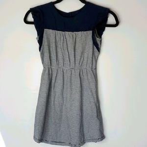 BRAND NEW: GAPKIDS Blue and White Stripe Dress